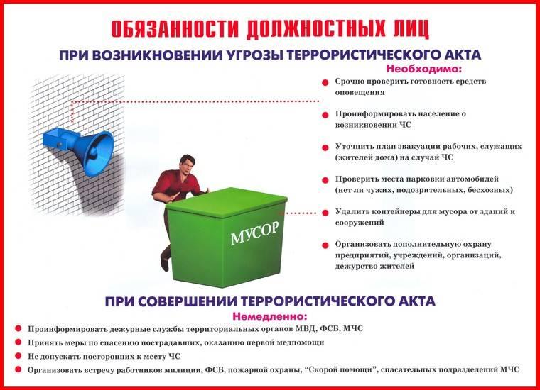 плакаты антитеррор 1