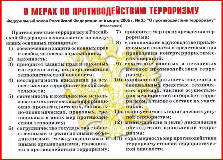 плакаты антитеррор 7